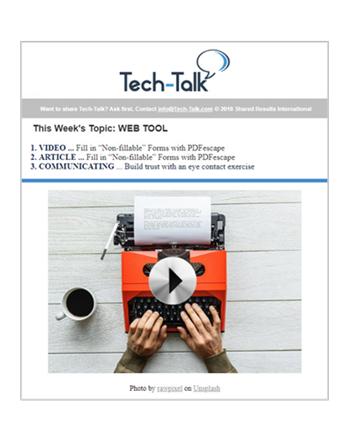 Talk pdf tech