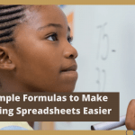 EXCEL/G-SHEETS: Simple Formulas